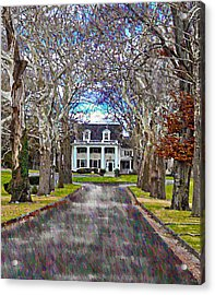 Southern Gothic Acrylic Print by Bill Cannon