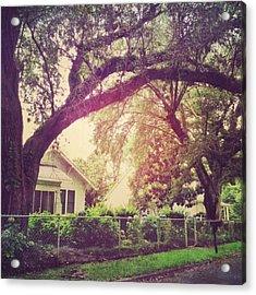 Southern Home #house  #coastalbeauty Acrylic Print