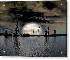 Southern Lake Acrylic Print