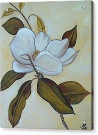 Southern Magnolia Acrylic Print by Martha Mullins