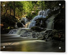 Acrylic Print featuring the photograph Southern New Hampshire Garwin Falls by Juergen Roth