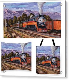 southern Pacific Daylight Is My Acrylic Print