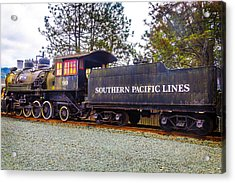 Southern Pacific Lines Old Train Acrylic Print by Garry Gay