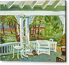Southern Porches Acrylic Print