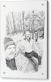 Southern Terminus  Acrylic Print