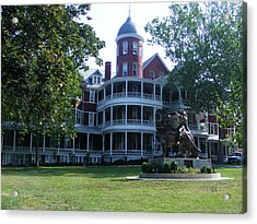 Southern Virgiinia College Acrylic Print by Eddie Armstrong