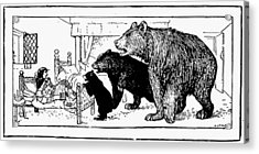 Southey: Three Bears, 1892 Acrylic Print by Granger