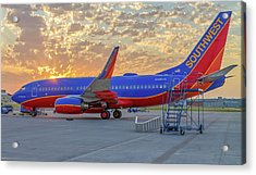 Southwest Airlines - The Winning Spirit Acrylic Print