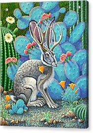 Southwestern Jackalope Acrylic Print