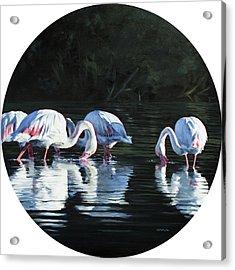Soutpan Morning Acrylic Print