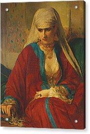 Souvenir D'orient, 1870 Acrylic Print
