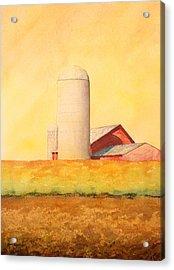 Soybean Field Acrylic Print