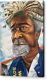 Soyinka An African Literary Icon Acrylic Print