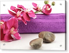 Spa Accesories Acrylic Print