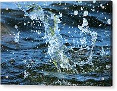 Spa Acrylic Print by Heike Hultsch