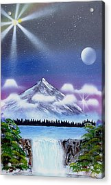 Space Art Acrylic Print by Lane Owen