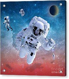 Space Astronaut Acrylic Print