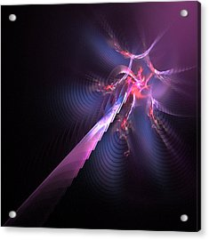 Space Bolt Acrylic Print