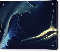 Space Convolutions Vii Acrylic Print by Alexander Weygers
