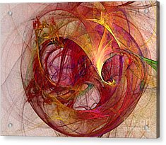 Space Demand Abstract Art Acrylic Print