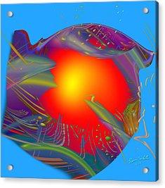 Space Fabric Acrylic Print