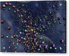 Space Geometry Acrylic Print