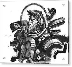 Space Man Acrylic Print