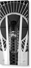 Acrylic Print featuring the photograph Space Needle Seattle by Chris Dutton