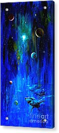 Space Shark Acrylic Print