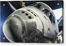 Space Shuttle Atlantis Acrylic Print by David Collins