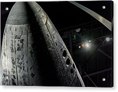 Space Shuttle Nose  Acrylic Print by David Collins