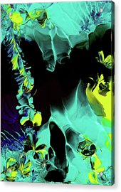 Space Vines Acrylic Print