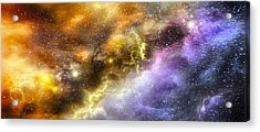 Space005 Acrylic Print by Svetlana Sewell
