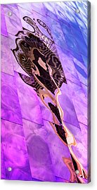 Spaced-out Needle Acrylic Print by Stephen Stookey
