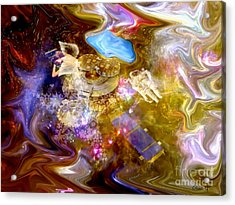 Spaced Out Acrylic Print by Eleni Mac Synodinos
