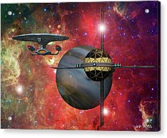 Spaceliner Opulence Acrylic Print