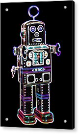 Spaceman Robot Acrylic Print by DB Artist