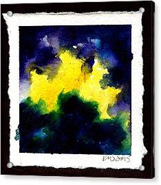 Spacestorm Acrylic Print by Ken Meyer jr