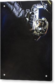Spacewalk 1  Acrylic Print by Simon Kregar