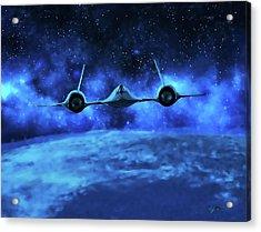 Spaceward Acrylic Print