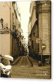 Spain Streets Acrylic Print by Carly Athan
