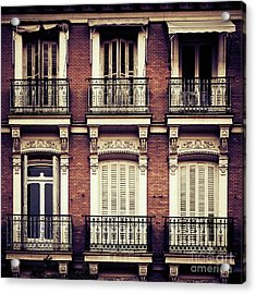 Spanish Balconies Acrylic Print