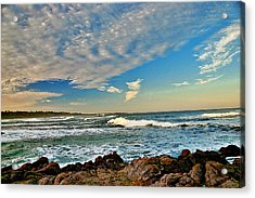 Spanish Bay Sunrise Acrylic Print