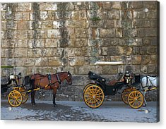 Spanish Carriage Acrylic Print by Carlos Caetano