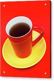 Spanish Cup Of Coffee Acrylic Print by Wim Lanclus