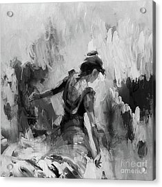Acrylic Print featuring the painting Spanish Dance 7734j by Gull G