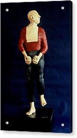 Spanish Dancer Acrylic Print by Gordon Becker
