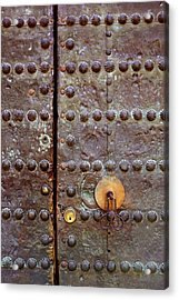 Spanish Door Acrylic Print by Carlos Caetano