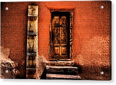 Spanish Door Acrylic Print