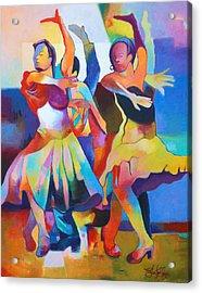 Spanish Harlem Dance Acrylic Print